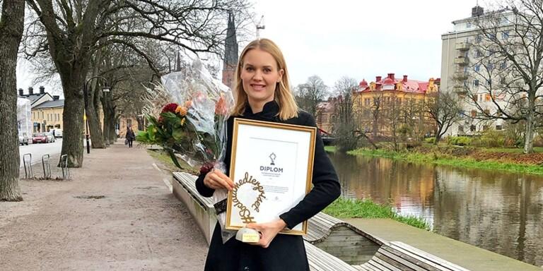 Hon får årets Sociala medier-pris