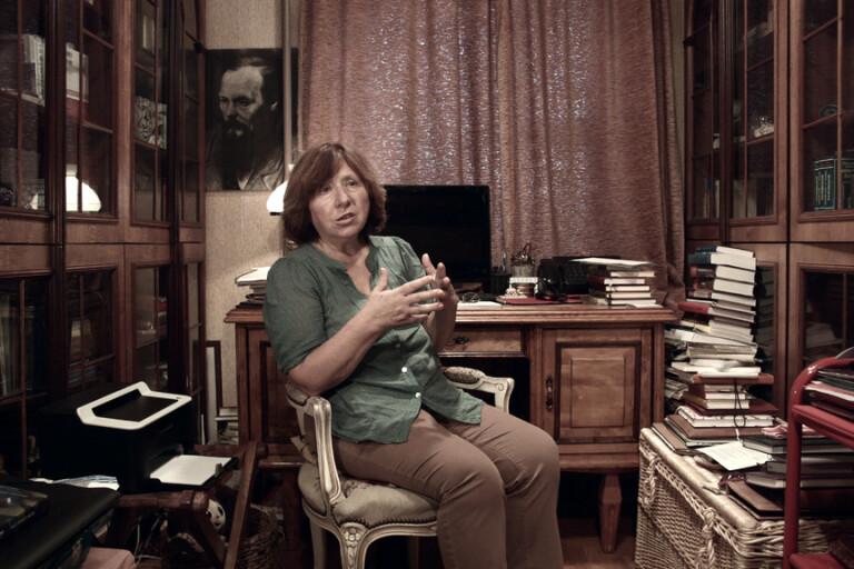 Bokmässan sänder intervju med Aleksijevitj