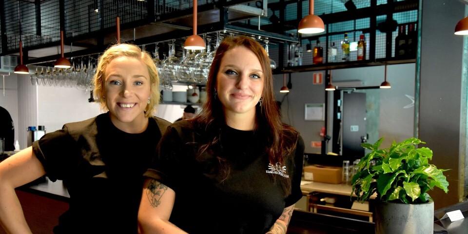Sandra Hartman och Emma Bertilsson.