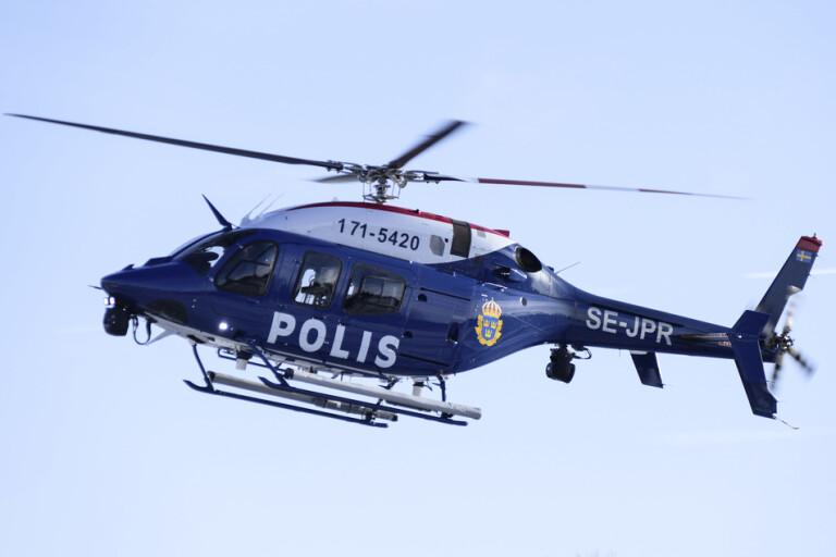 Polisen i Blekinge har bland annat satt in helikopter i sökandet efter den försvunne mannen.