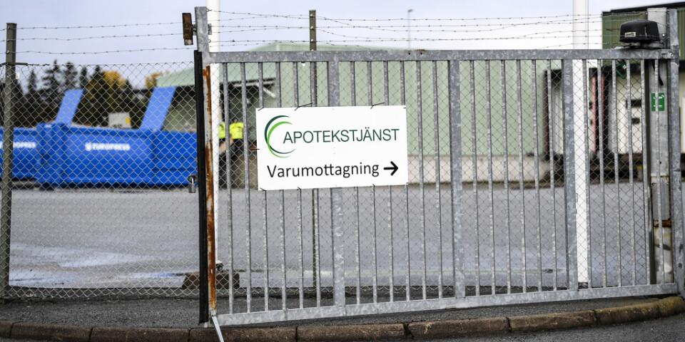 Nu kräver regionerna Örebro, Värmland, Västmanland, Dalarna, Sörmland, Gävleborg och Uppsala svar från det kritiserade företaget Apotekstjänst. Arkivbild.
