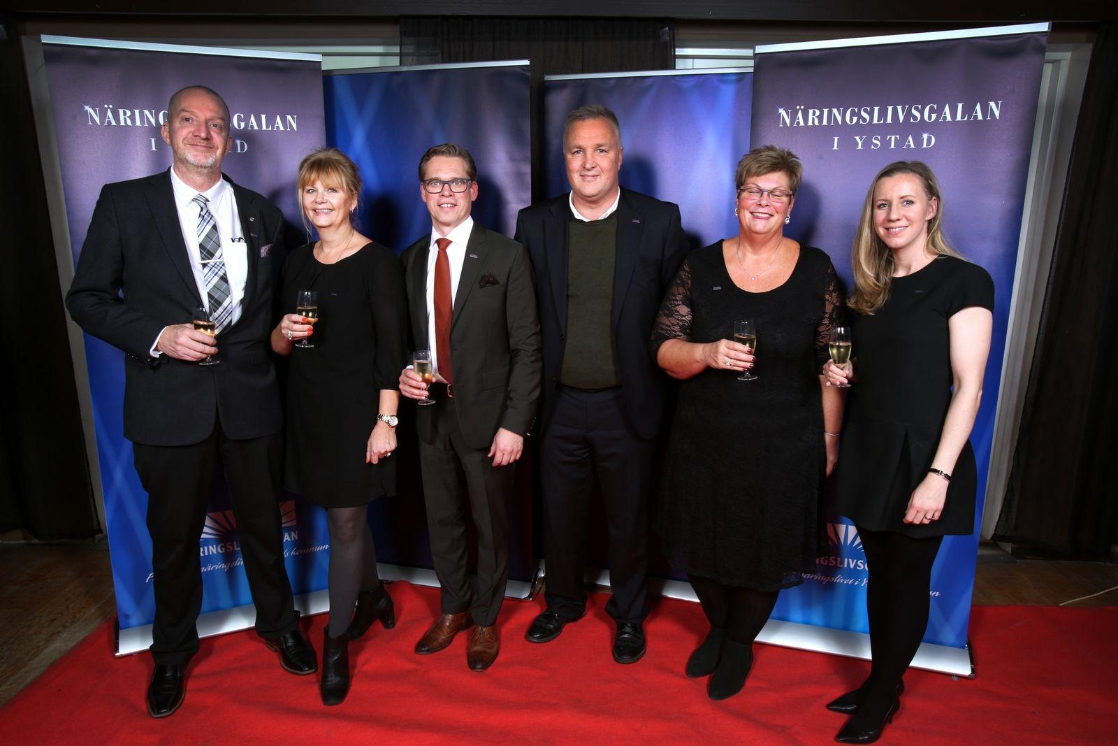 Lars Nilsson, Liz Solander, Göran Arnesson, Paul Persson, Rita Hallgren, Yasmine Fort, Nordea