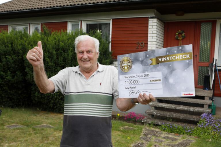 Gey från Nybro vann 1,1 miljoner