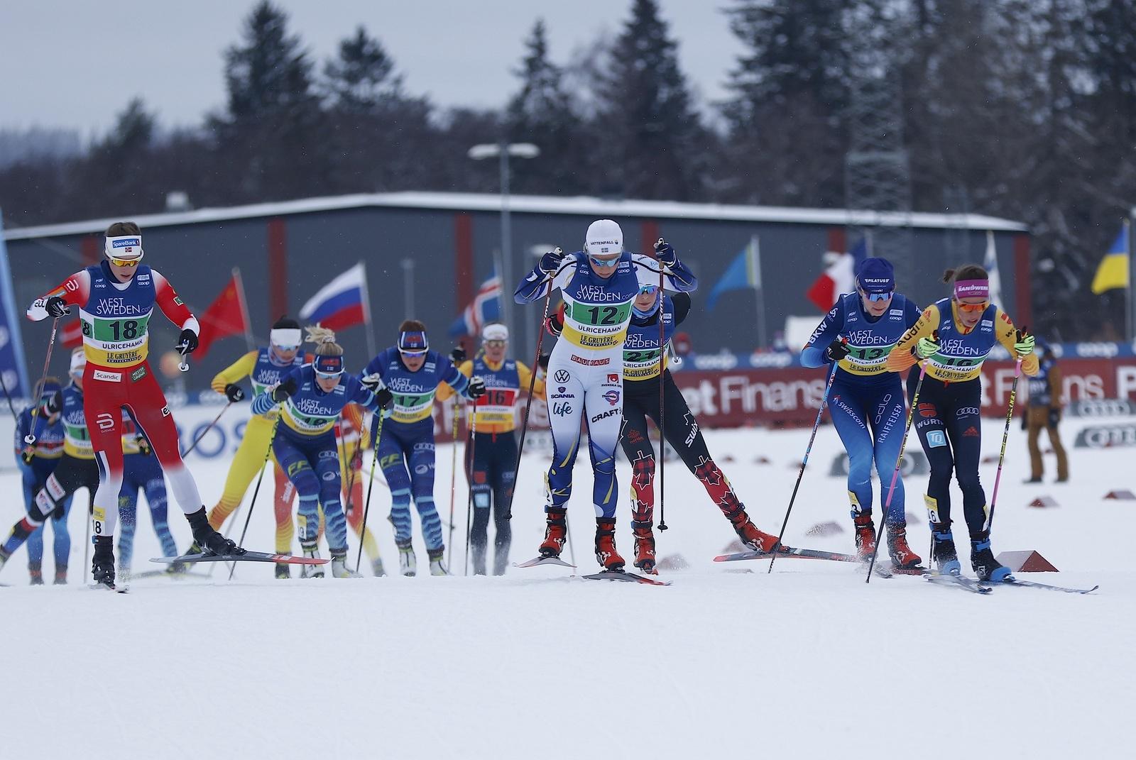 Världscupen i Ulricehamn 2021Teamsprint