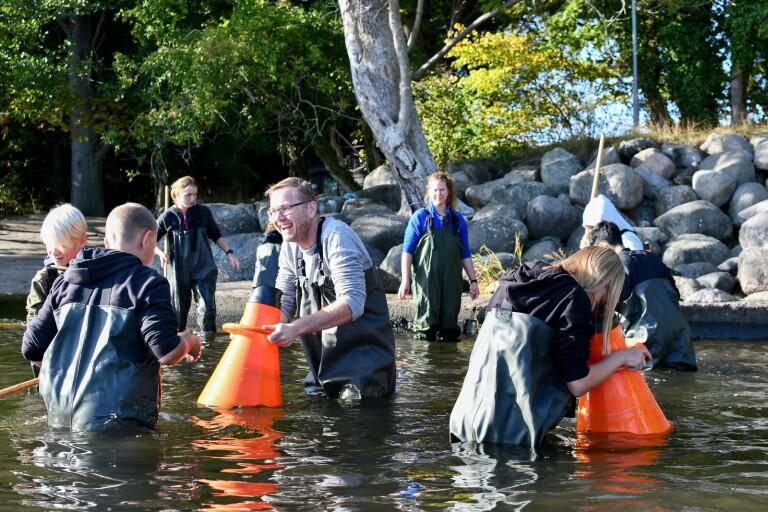 Donation väcker intresse för vatten och miljö