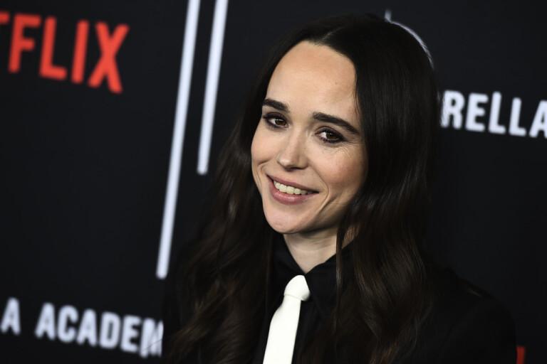 Ellen Page kommer ut som trans