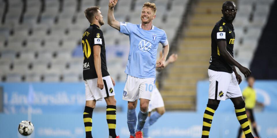 Malmös stjärna Anders Christiansen saknas mot Elfsborg. Arkivbild.