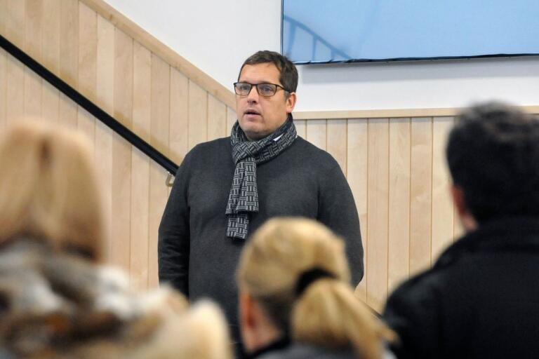 Per Viberg, klubbchef i FBC Kalmarsund