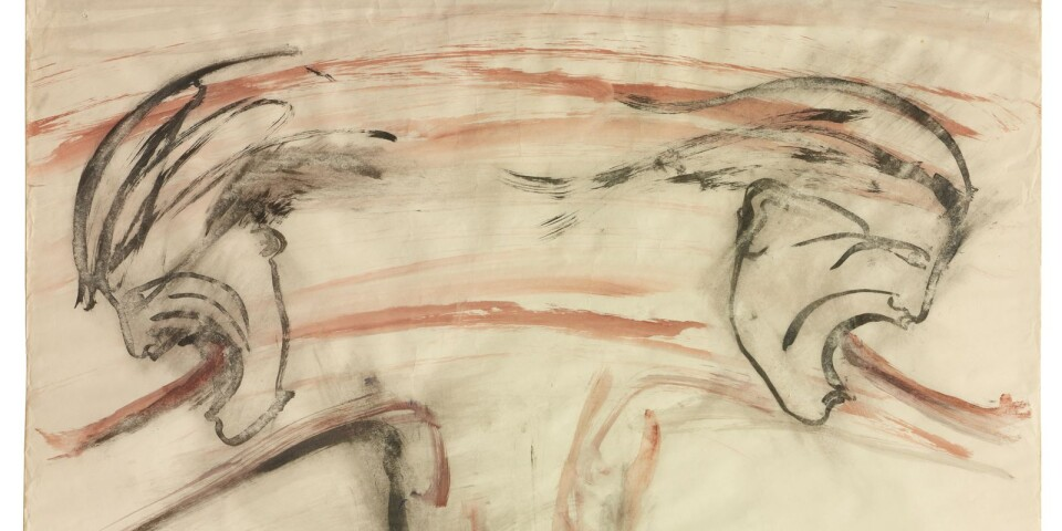 "Nancy Spero: ""Male Bomb"", 1966"