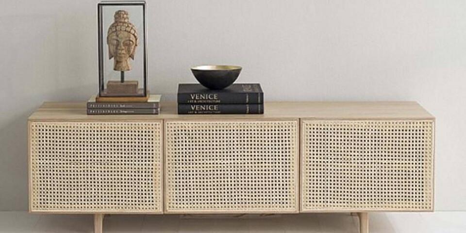Mediabänk, Raquet, Vision of Home, 9625 kr.