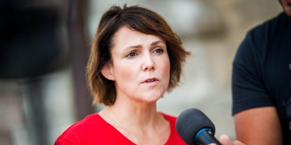 """""""Till skillnad från Moderaterna, Kristdemokraterna och Sverigedemokraterna så menar vi allvar med våra investeringar i välfärden"""", skriver Sandra Bizzozero."""
