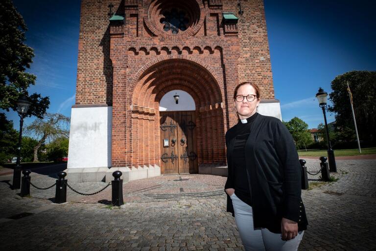 I veckan tillträdde Catarina Liljeberg sin tjänst i Trelleborgs församling. Söndagen den 31 maj är det välkomstgudstjänst.
