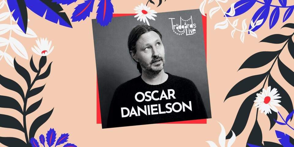 Oscar Danielson uppskattas inte minst för sina texter.