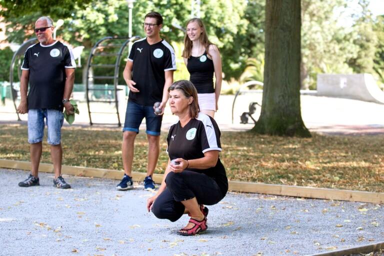 Unga medaljörer skapar framtidstro på boulebanan