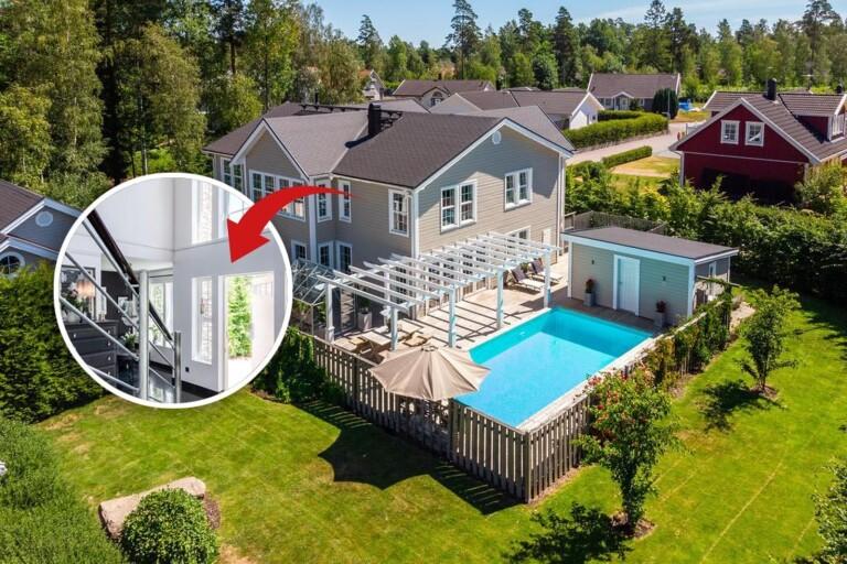 Stort intresse för villa med pool – tionde mest klickad i landet