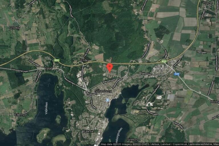 117 kvadratmeter stort kedjehus i Sölvesborg sålt till nya ägare