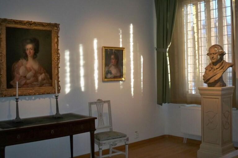 P A Hall-rummet som det såg ut tidigare.