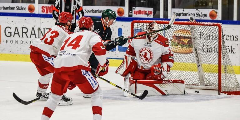 Troja/Ljungby slutar trea i den södra hockeyettan om Alexander Jepsen får rätt.