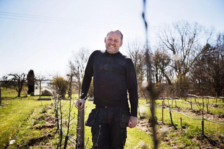 """John Taylor är ciderns ambassadör i Sverige: """"Något måste man göra med sitt liv"""""""