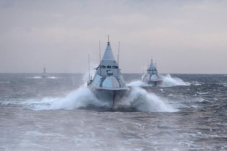 Signaler om uppgraderade Visbykorvetter