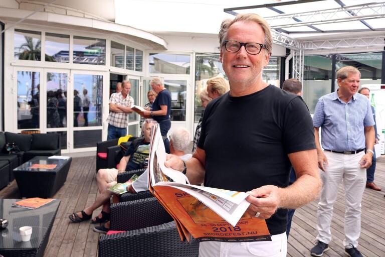 Håkan Brynielsson, ordförande i Ölands Skördefest, menar att det ekonomiska läget är tufft. Tre anställda ska korttidspermitteras.