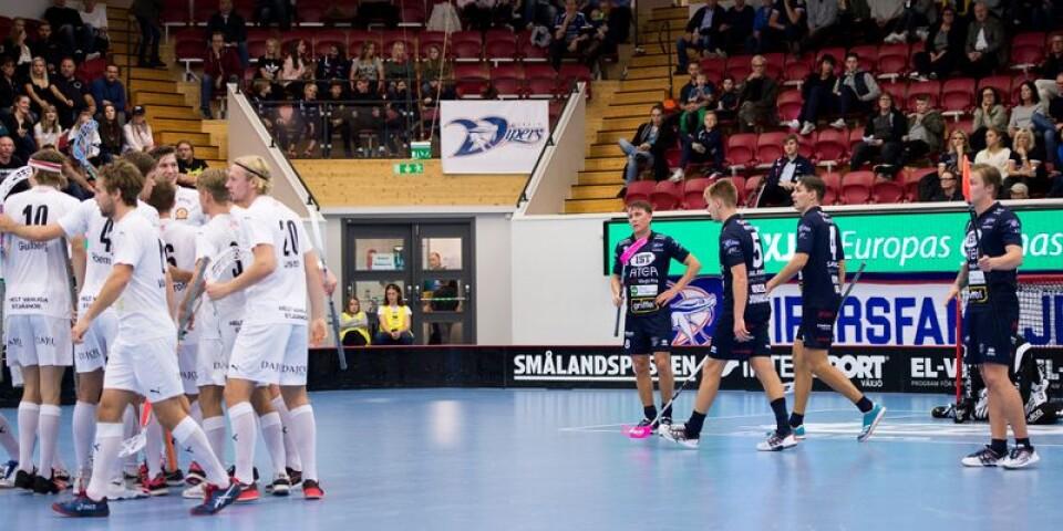Depp i Vipers. Jubel i Höllviken. 6-7 slutade onsdagens SSL-match i Fortnox Arena.