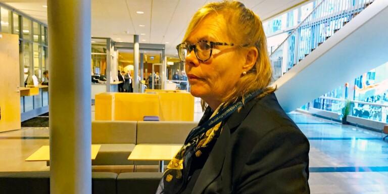 Lena Medelius är chefsåklagare i målet kring smuggelhärvan där ett enormt narkotikabeslag gjordes i Mark.