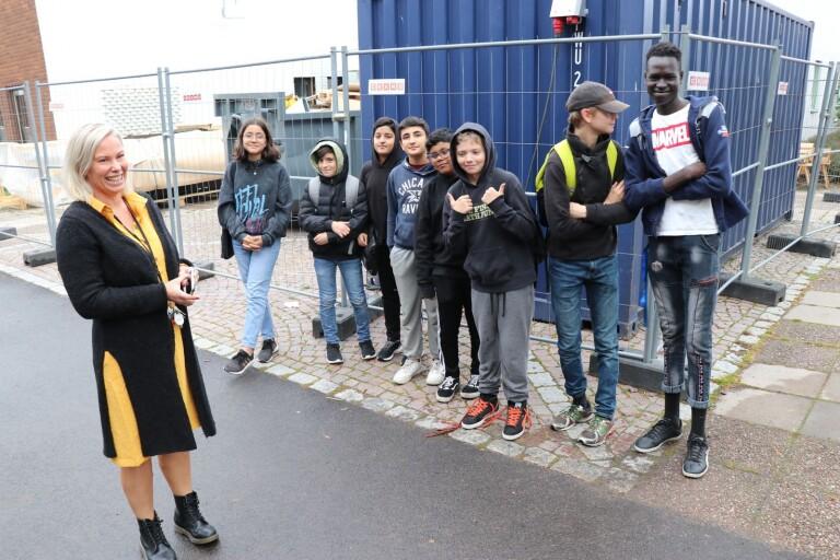 Ungdomar namngav den nya fritidsgården i Kristineberg