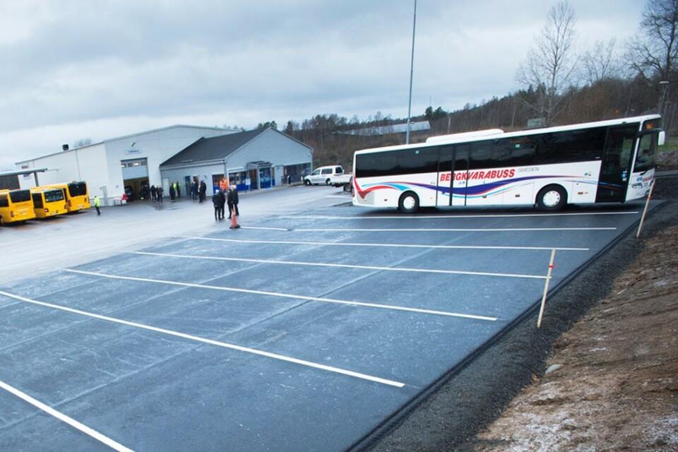 Bergvara bussdepå Broby