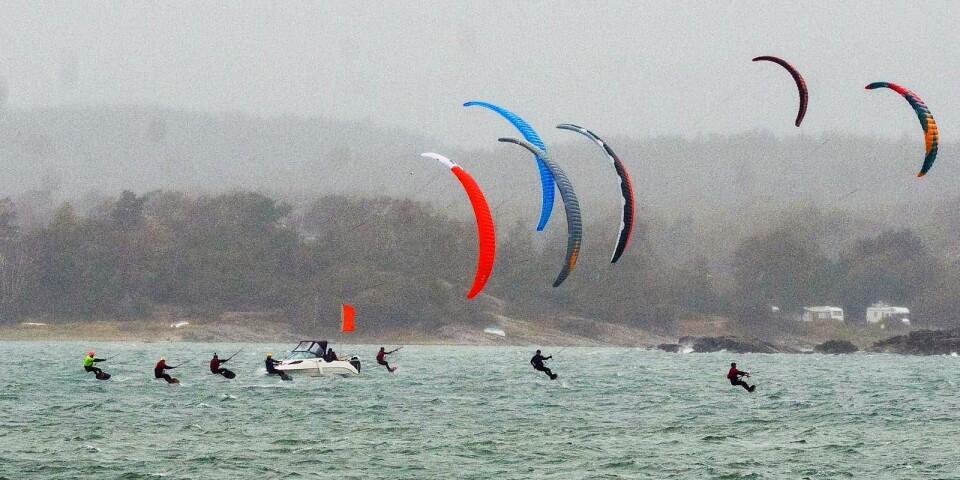 Kitefoil avgörs som en typ av bankappsegling.