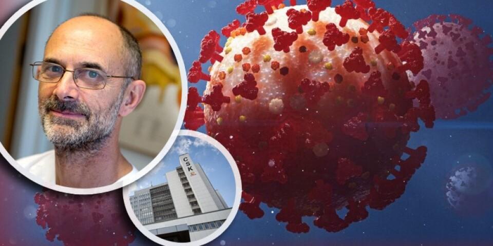 Ställ dina frågor till Sergio Padoan, chefläkare på Centralsjukhuset i Kristianstad.