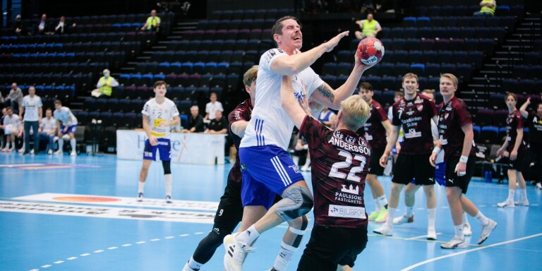 Kim Andersson gjorde en bra match mot Lugi, som å andra sidan var bättre som lag. Därmed blev det bortaseger i Ystad Arena.
