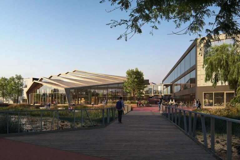 Förslaget: Flytta högskolan till Galleria Boulevard