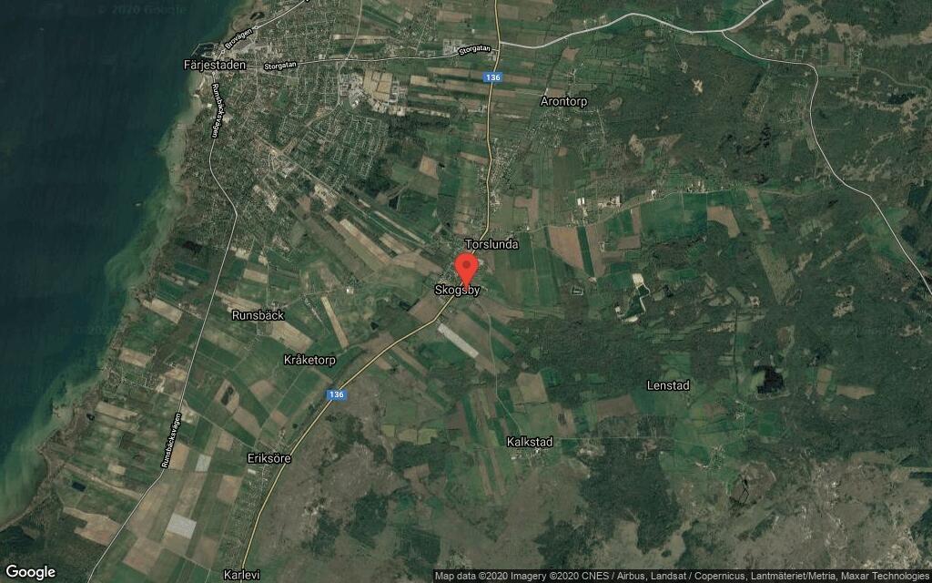 Fastigheten på Kalkstadsgatan 3B i Skogsby, Färjestaden såld för 2790000 kronor