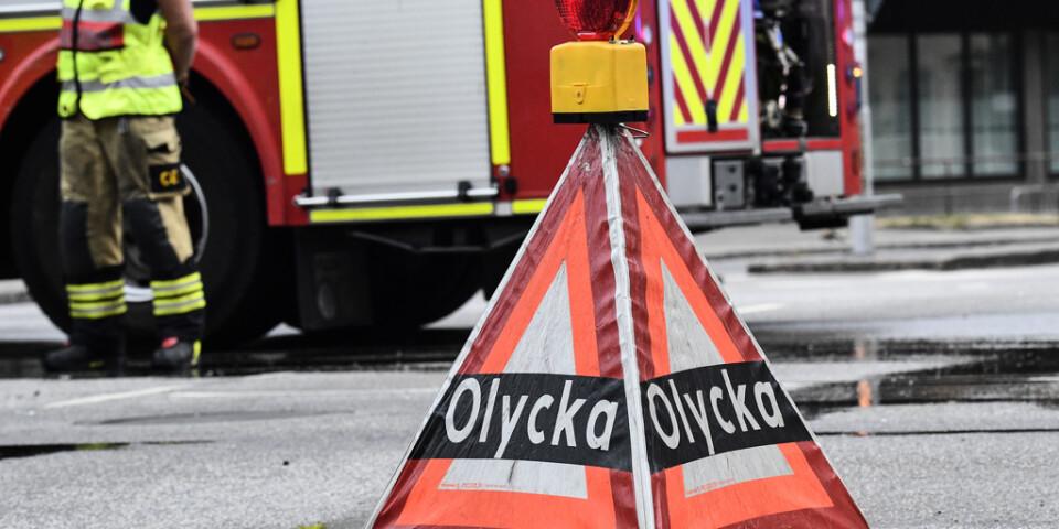 En person har omkommit i en större trafikolycka på E4 mellan Ljungby och Värnamo. Arkivbild.