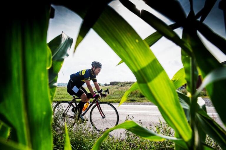 Andra utmaningen – 180,2 kilometer på cykel