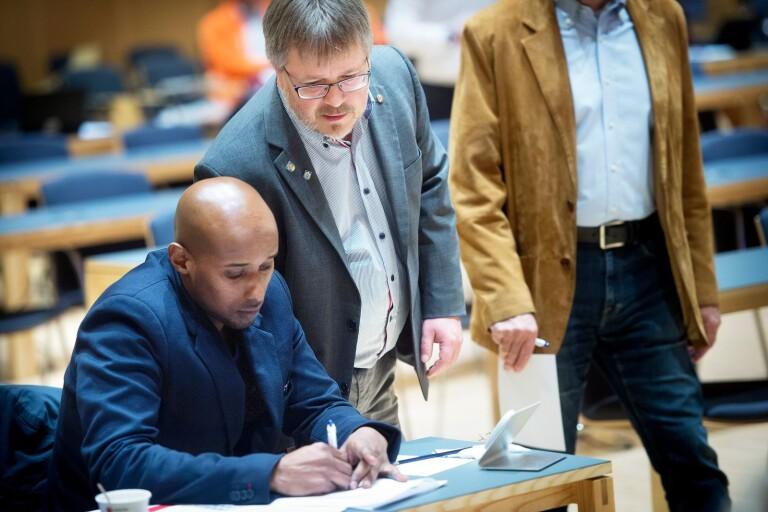 Abdikarim Hassan: Vänsterpartisten som blev politisk vilde