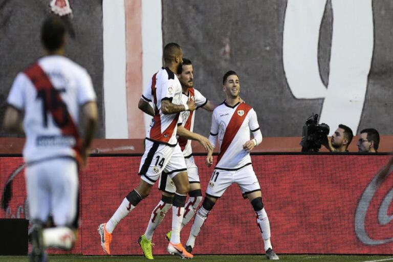 Rayo Vallecano ska spela andra halvlek av den avbrutna matchen mot Albacete den 10 juni. Arkivbild.