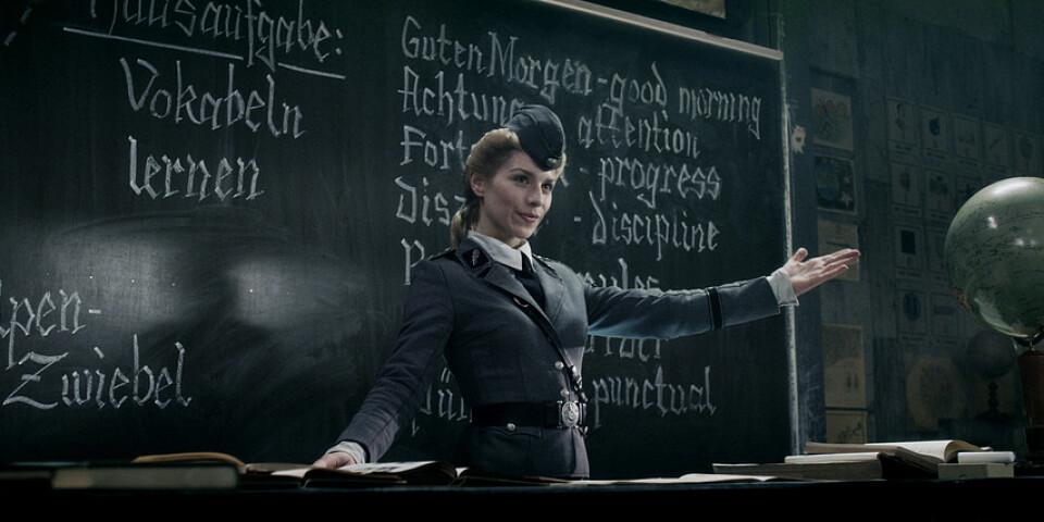 """I Timo Vuorensolas film """"Iron sky"""" från 2012 gömmer sig nazister på baksidan av månen. Pressbild."""