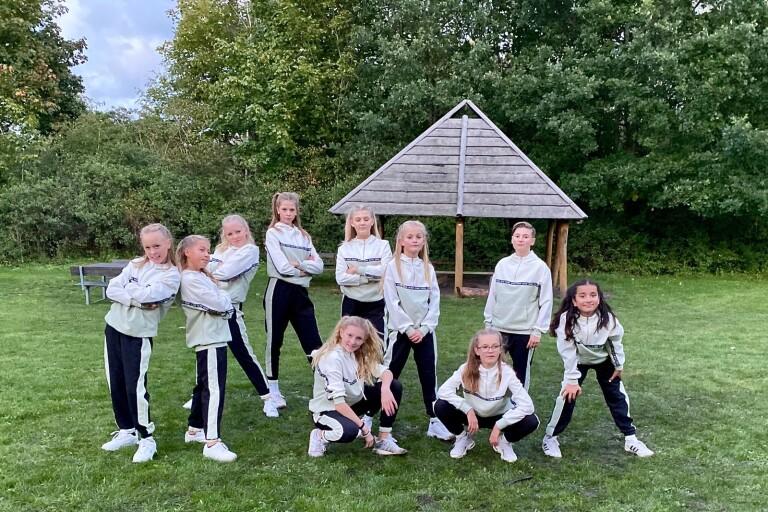 Danzfits yngsta grupp kom på tredje plats i danstävlingen Streetstar i helgen.