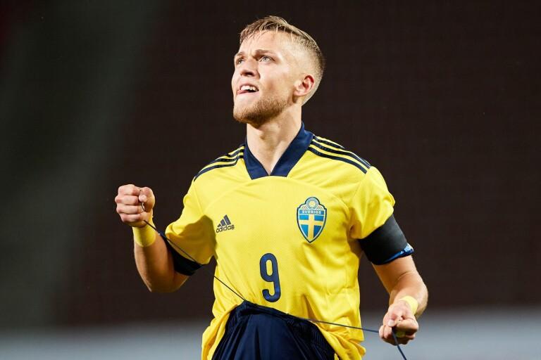 10–0 (!) till Sverige – då gjorde Karlsson äkta hattrick