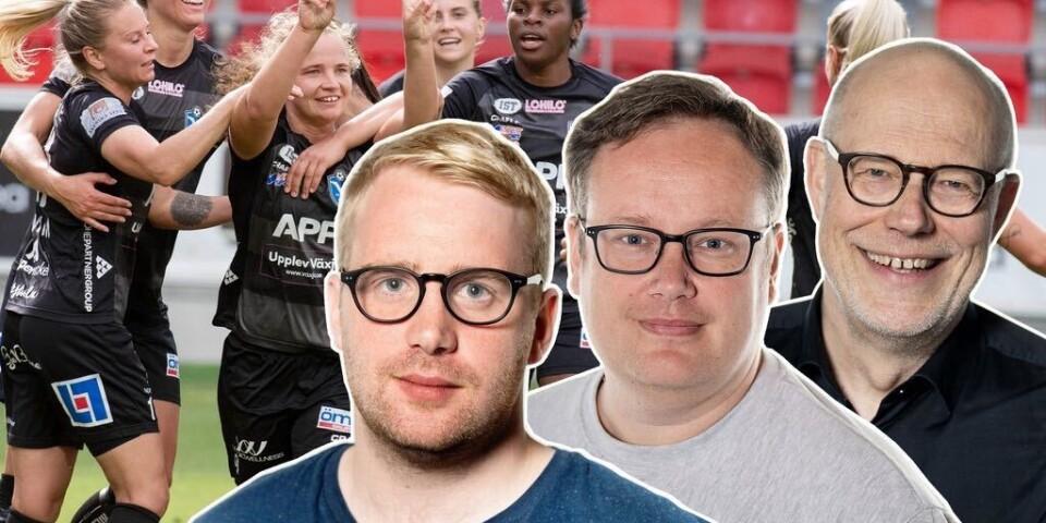Växjö DFF-podden med Victor Laag, Daniel Rydström och Dan Magnusson.