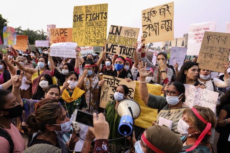 Dödsstraff för våldtäkt i Bangladesh