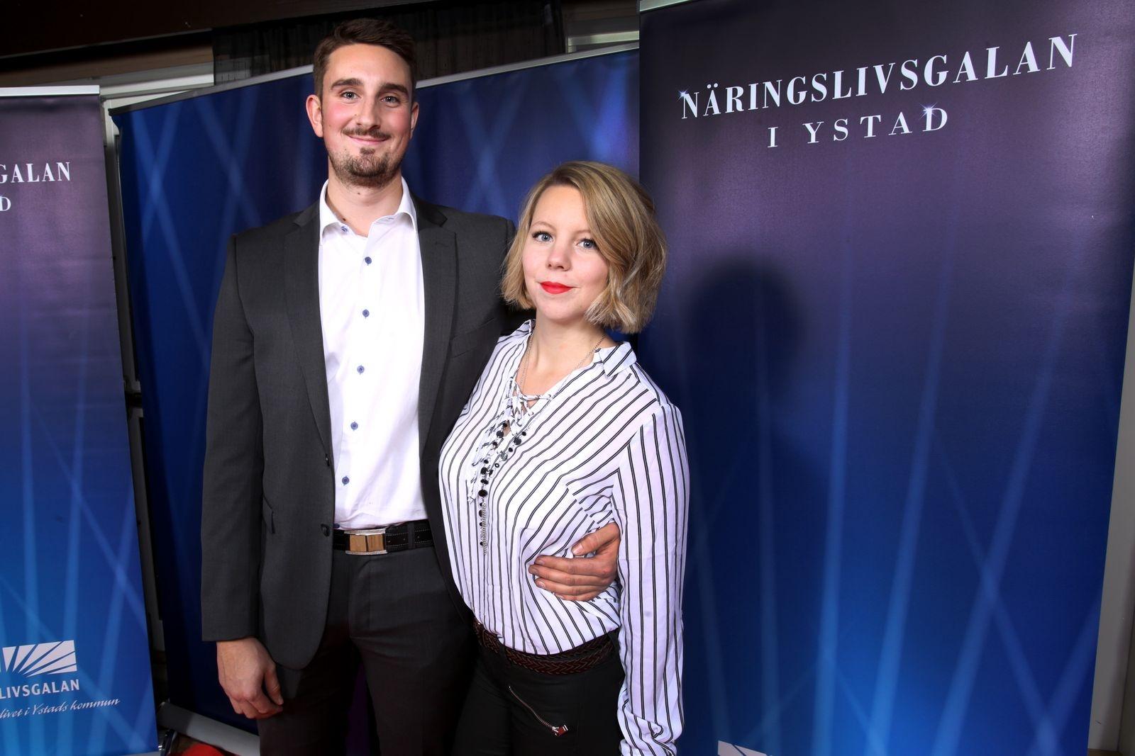 Marcus Holmqvist och Emma Jönsson, YBB