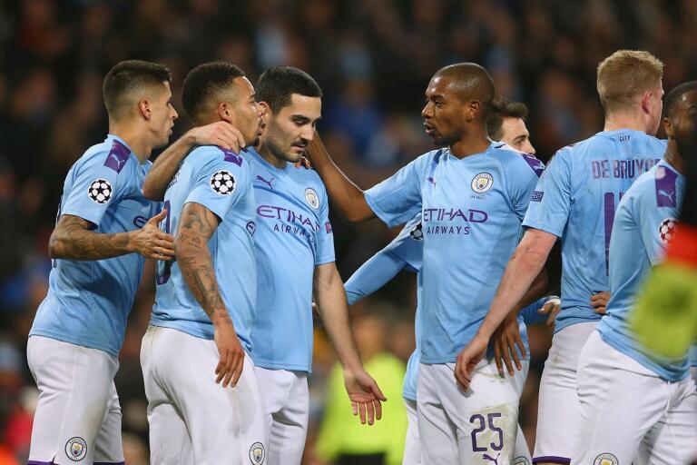 Manchester City-spelarna kan snart vara tillbaka på fotbollsplanen.
