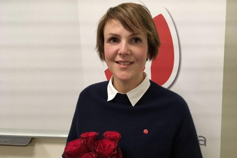 Camilla Brunsberg (M) borde skicka ett fång rosor till Sandra Bizzozero (S) för väl utfört valarbete.