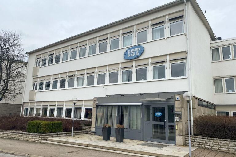 IST:s huvudkontor i Växjö. Arkivfoto