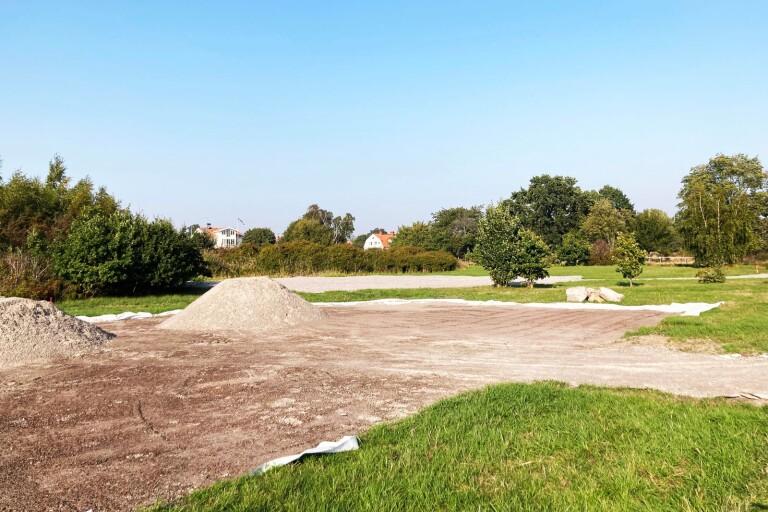 Så blir nya hundrastgården i Kalmarsundsparken