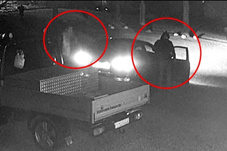 """Nytt försök knyta männen till Piperrånet: """"Ni ser att två personer lämnar bilen"""""""