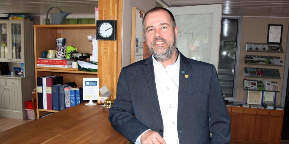 Marcel van Luijn är kritisk till att Borgholms kommun inte kan erbjuda digitala möten.